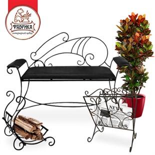 Кованые диваны и стулья