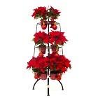 Кованые елки - цветочницы