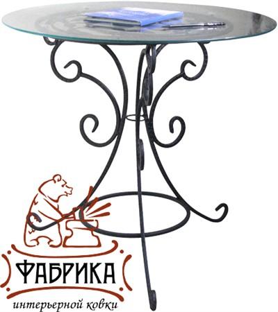 Стеклянный стол 349-01 - фото 4520
