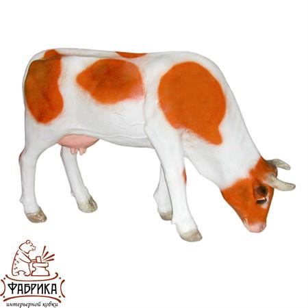 Садовая фигура из полистоуна Корова Средняя F07088