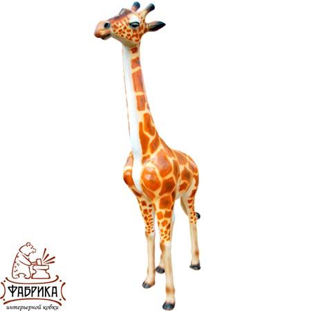 Садовая фигура из полистоуна Жираф F01182