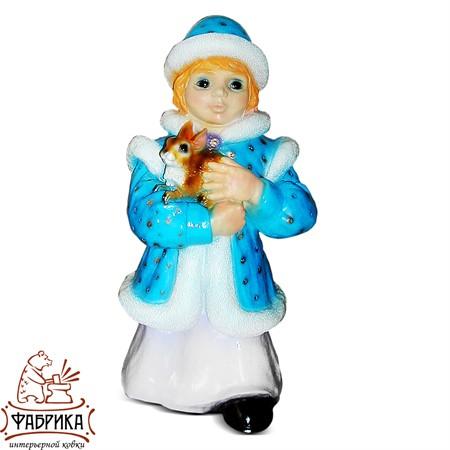 Новогодние фигуры из полистоуна Снегурочка F03180