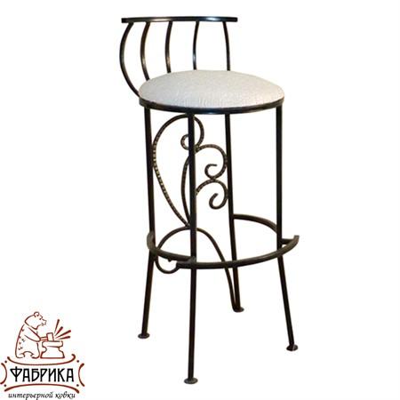 Кованая мебель для дома Стул барный 325-06