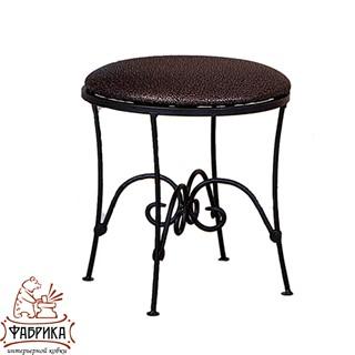Кованая мебель для дома табурет 302-33