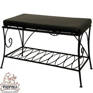 Кованая мебель для дома Банкетка 302-21