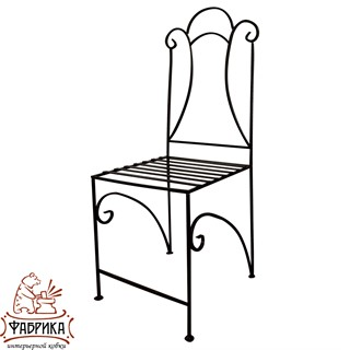 Кованая мебель для дома Стул 324-01
