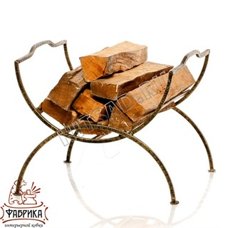 Кованая мебель для дома Дровница 500-42