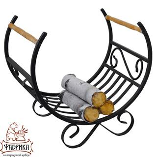 Кованая мебель для дома Дровница 500-71