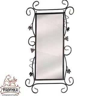 Кованый декор для интерьера Зеркало 43-106