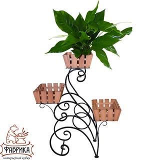 Садовая подставка для цветов 59-723