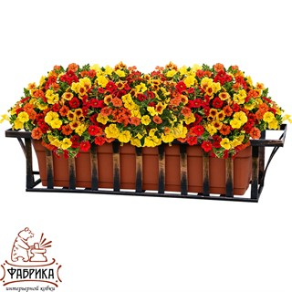 Кованая подставка для цветочных ящиков 51-251