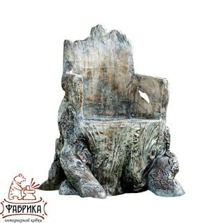 Садовая мебель из полистоуна Кресло Корень U07985