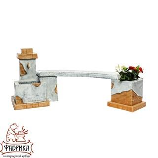 Садовая мебель из полистоуна Комплект мебели U08230