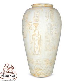 Интерьерная ваза из полистоуна