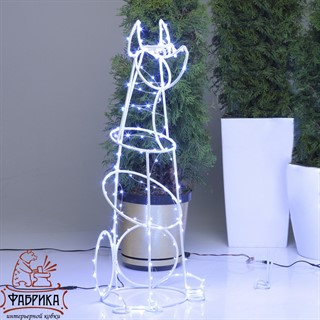 Светящаяся фигура Доберман