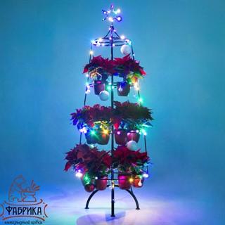Цветочница елка