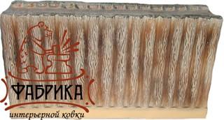 Стена длинная деревянная для песочницы