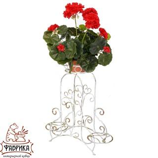 Кованая подставка для цветов 10-423