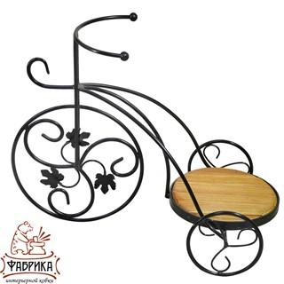 Подставка для цветов велосипед 59-411