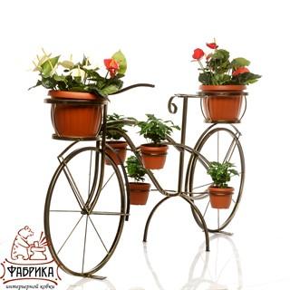 Подставка для цветов велосипед 53-601