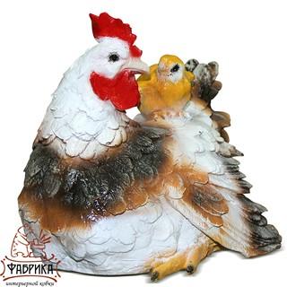 Садовая фигура Курица F07786