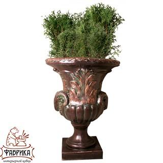 Садовый декор из полистоуна Вазон Высокий US07933