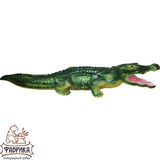 Садовая фигура из полистоуна Крокодил F01040