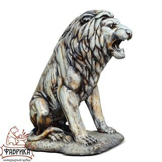 Скульптура для сада Лев
