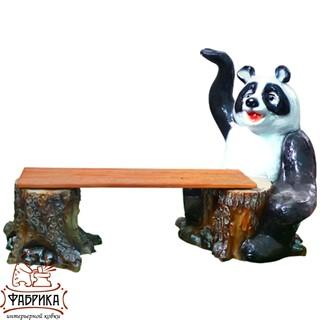 Садовая мебель из полистоуна Скамейка F07036 (F07277+F07285)