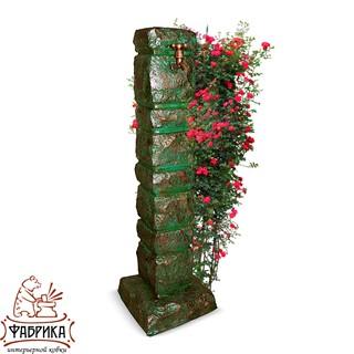 Садовый декор из полистоуна умывальник Столб U07560