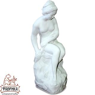 Садовый декор из полистоуна фигура Девушка со Змеем F03001-WM