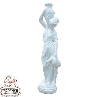 Садовый декор из полистоуна фигура Девушка с Кувшинами F03092-WM