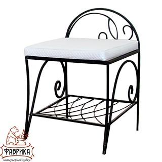Кованая мебель для дома Банкетка 302-12