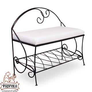 Кованая мебель для дома Банкетка 302-31