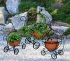 Садовые подставки для цветов - ландшафтный дизайн.