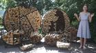 Как хранить колотые дрова