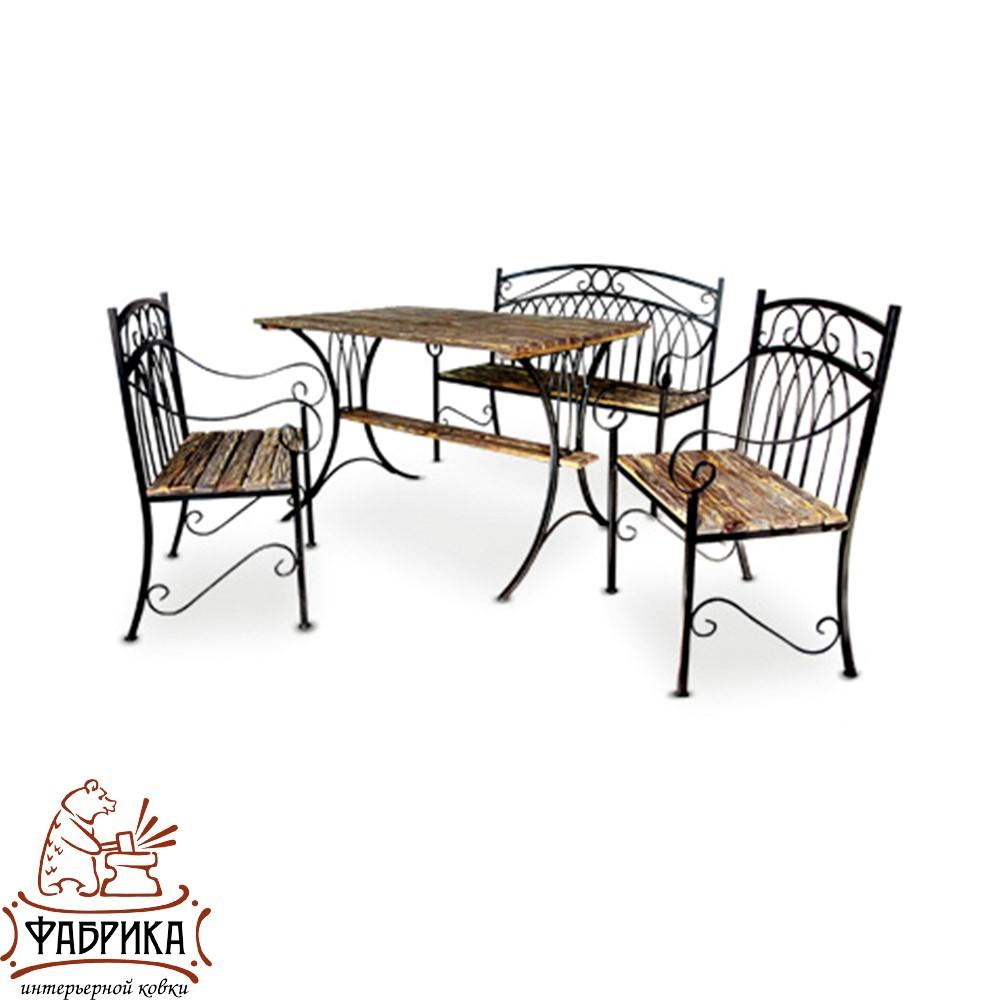 Комплект кованой мебели C5