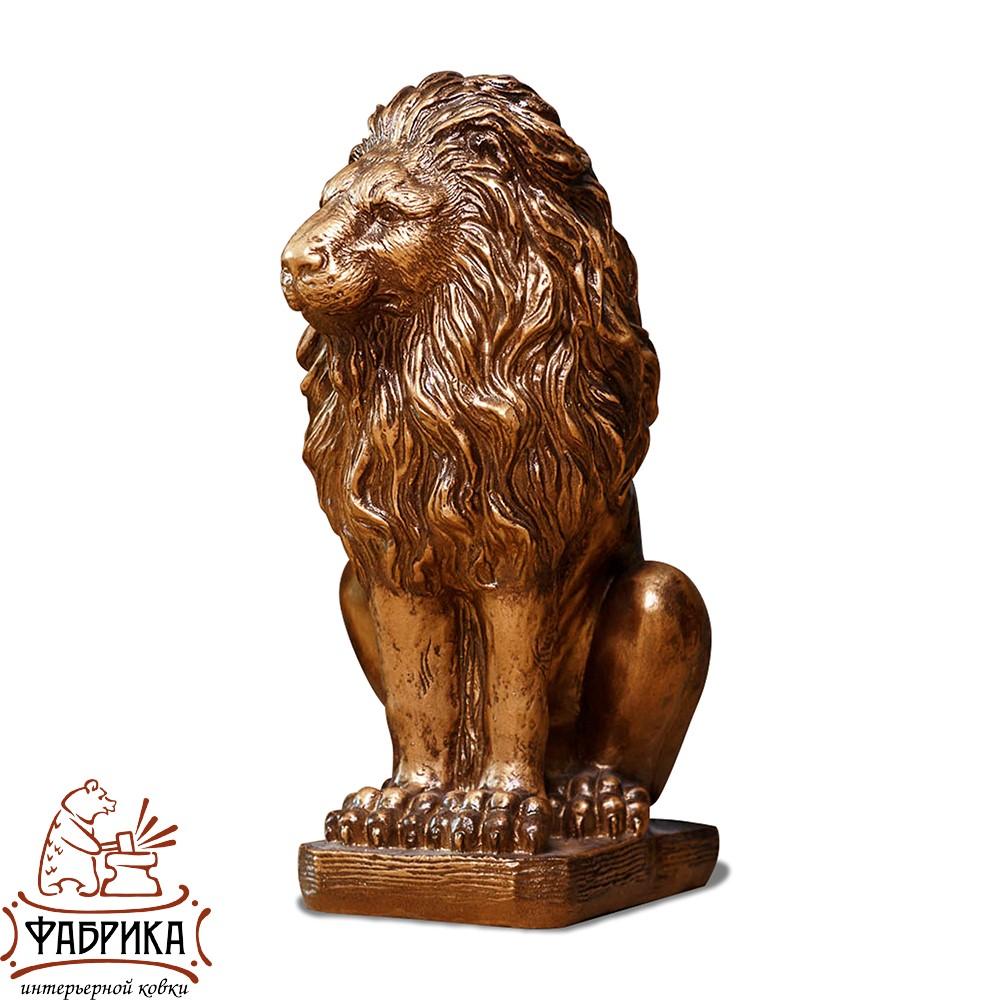Фигура Лев сидит, правый, BG F01079