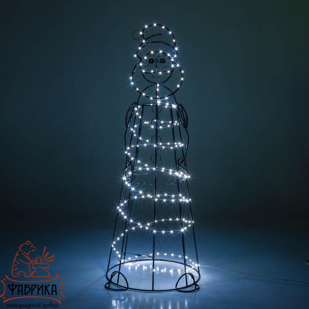 Световая фигура Дед мороз, 57-624