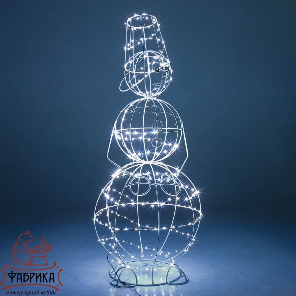 Световая фигура снеговик, 57-628