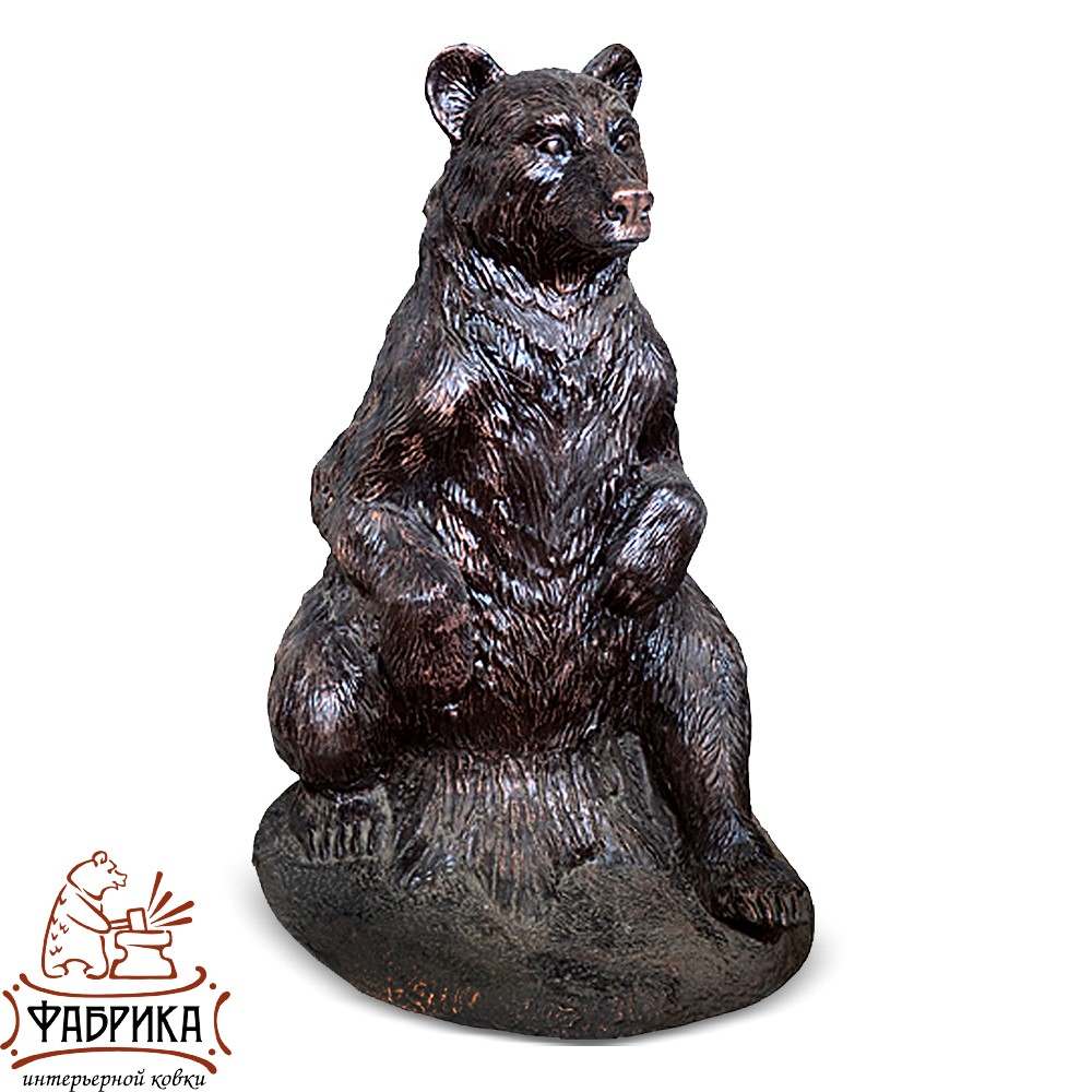 Медведица на пне FS07147