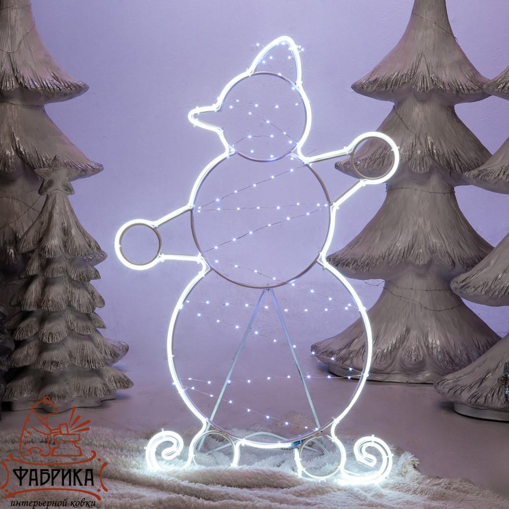 Световая фигура Снеговик большой
