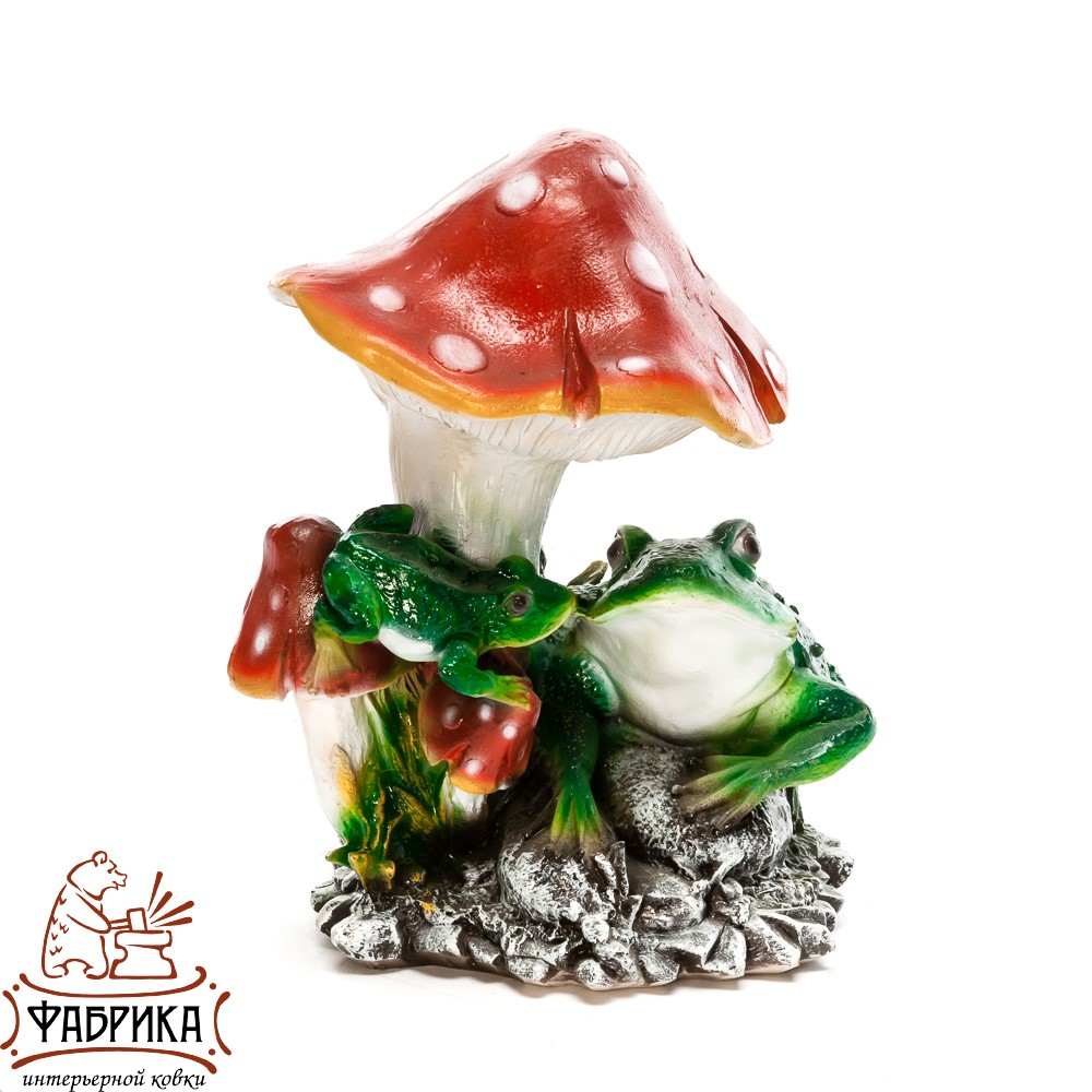 Фигура Лягушки под грибом