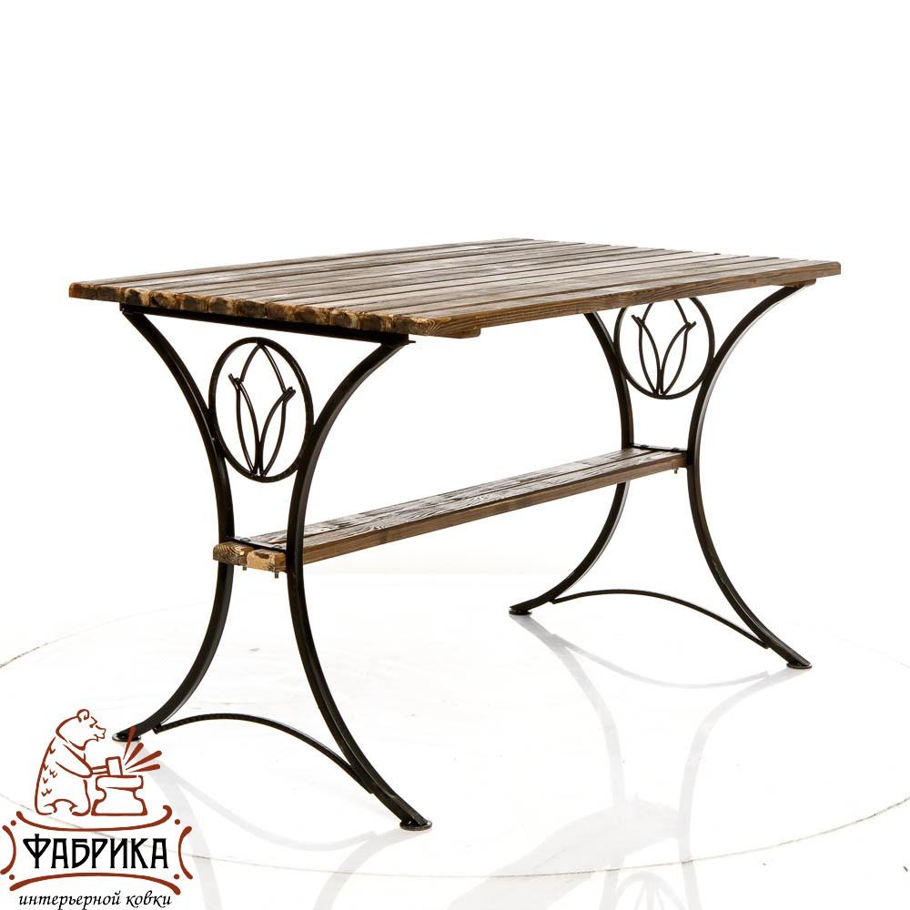 Садовый стол 881-65R с деревом