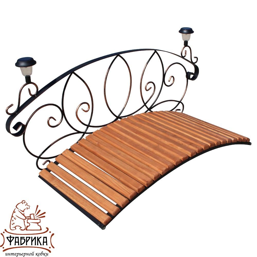 Декоративный мостик с фонариками, 862-01R