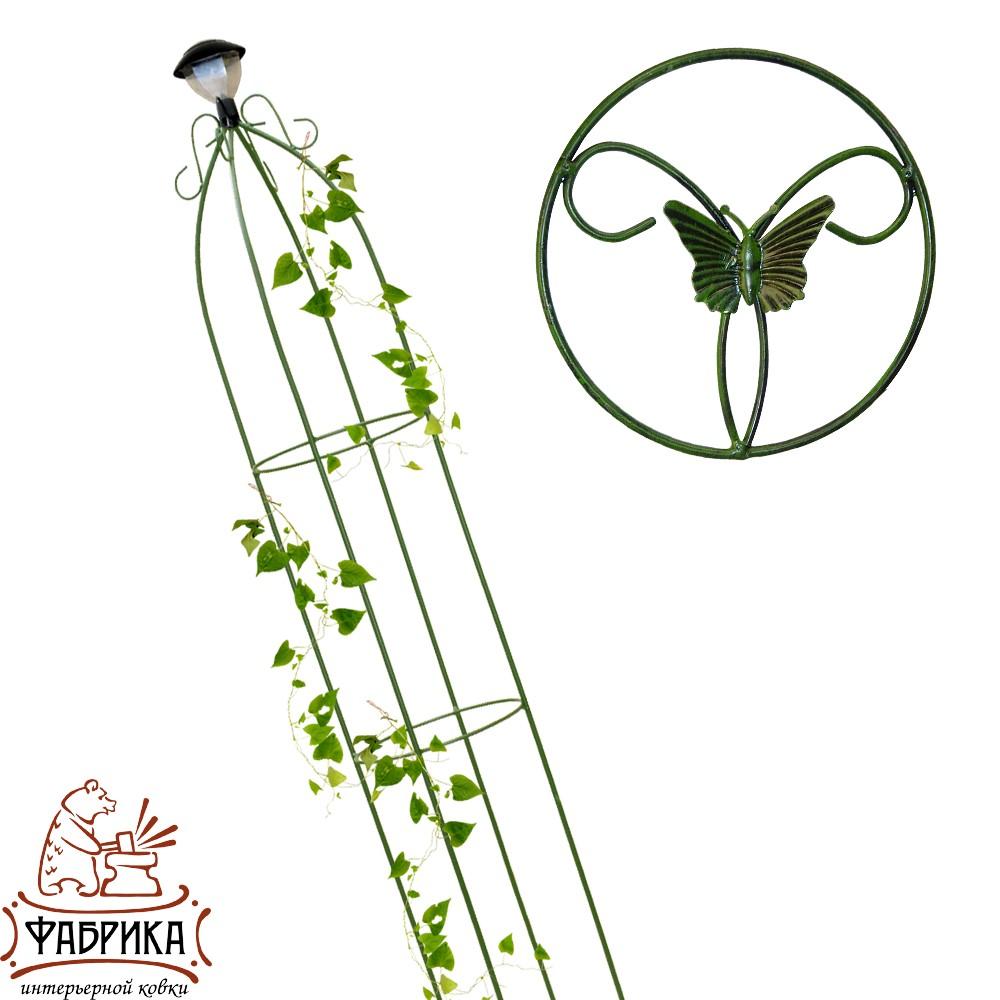 Шпалера для растений 57-103 с фонарем