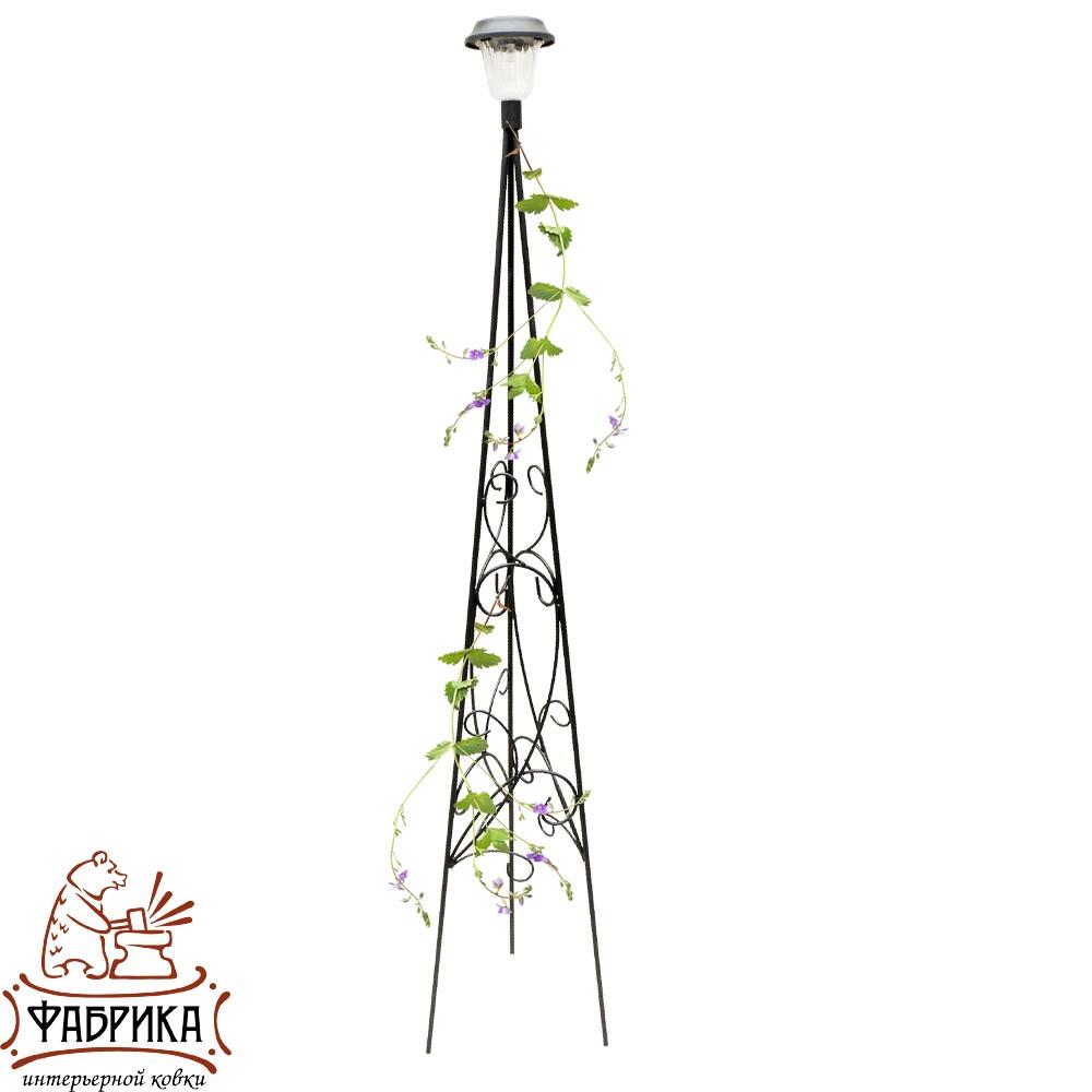 Шпалера для растений 57-203 с фонарем