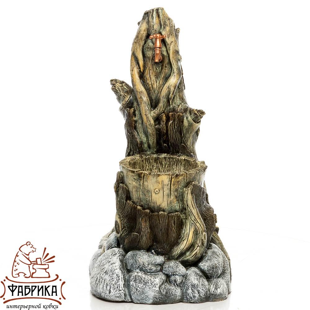 Умывальник состаренное дерево U08192