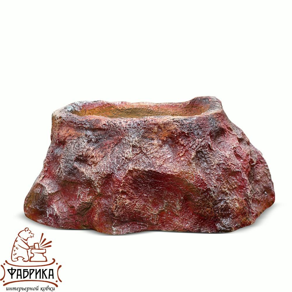 Кашпо камень большой F08056