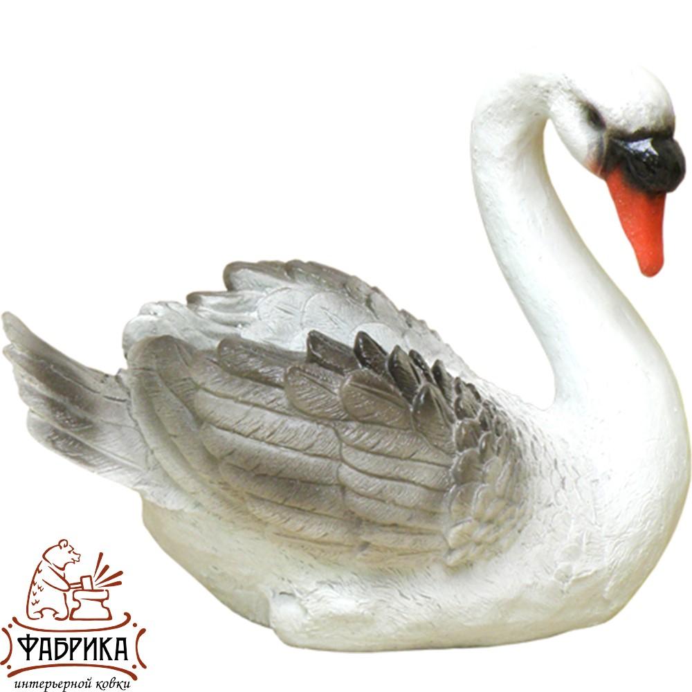Лебедь средний (кашпо) F07039-W
